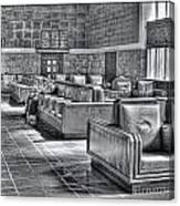 Union Station L.a. Waiting Canvas Print
