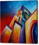 Unitarian Church Canvas Print
