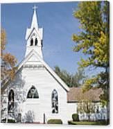 United Methodist Church Townsend Mt Canvas Print