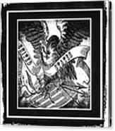 United States Bw Canvas Print