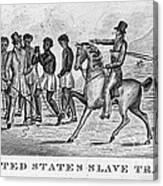 United States Slave Trade Canvas Print