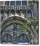 University Of Chicago Chapel Canvas Print