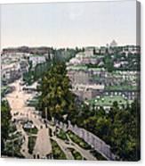 University Of Kiev - Ukraine - Ca 1900 Canvas Print