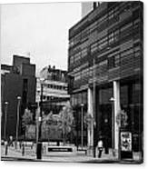 university of strathclyde buildings in Glasgow Scotland UK Canvas Print