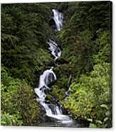 Unnamed Alaskian Falls Canvas Print