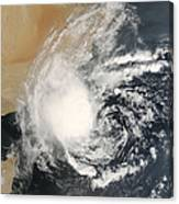 Unnamed Tropical Cyclone Approaching Canvas Print