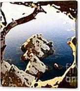 Untouched Coast Canvas Print