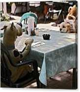 Unusual Diners Canvas Print