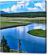 Up A Lazy River Canvas Print