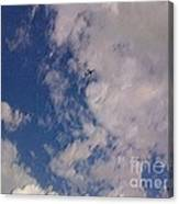 Up In The Clouds 3 Canvas Print
