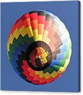 Up The Balloon Canvas Print