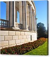 Upclose Of Arlington Memorial Amphitheater Canvas Print