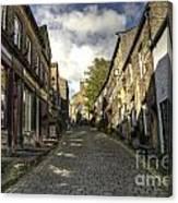 Uphill At Haworth Canvas Print