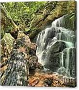 Upper Cascade Hidden Falls Canvas Print