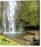 Upper Cascade Pool Multnomah Falls Or Canvas Print