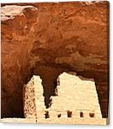 Upper Cliff Dwelling Canvas Print
