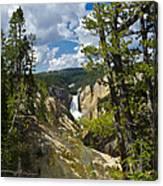 Upper Falls II Canvas Print