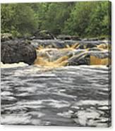 Upper Gabbro Falls Canvas Print