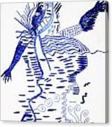 Upper Guinea Dance Canvas Print