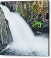Upper Mccloud Falls 2 Canvas Print