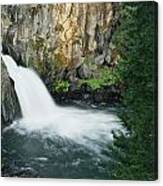 Upper Mccloud Falls Canvas Print