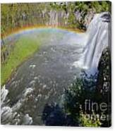 Upper Mesa Rainbow Canvas Print