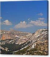 Upper Yosemite Panorama Canvas Print