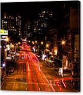 Uptown From Highline Canvas Print
