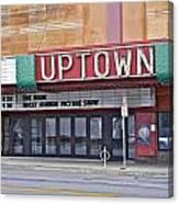 Uptown Theatre Canvas Print
