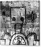 Urban Bot Canvas Print