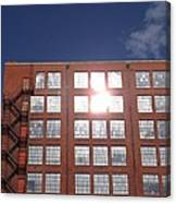 Urban Glare Canvas Print