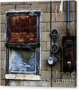 Urban Gritty Canvas Print