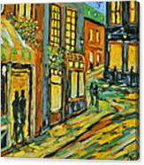 Urban Lights By Prankearts Canvas Print