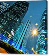 Urban Nightscape Series Canvas Print