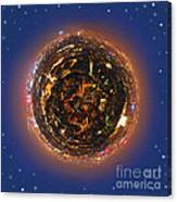 Urban Planet Canvas Print