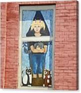 Urban Window 2 Canvas Print