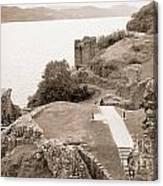 Urquhart Castle Ages Canvas Print