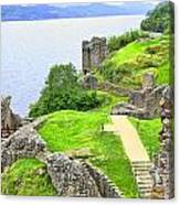 Urquhart Castle IIi Canvas Print
