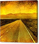 Us 50 - The Loneliest Road In America Canvas Print