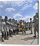 U.s. Air Force 86th Security Forces Canvas Print