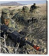 U.s. Air Force Pre-ranger School Canvas Print