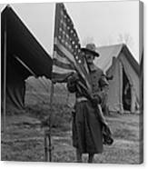 U.s. Army, African American Soldier Canvas Print