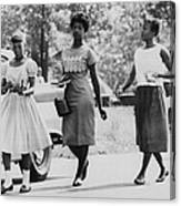 Us Civil Rights. From Left Integrated Canvas Print