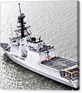 U.s. Coast Guard Cutter Stratton Canvas Print