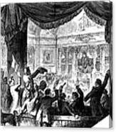 U.s. Congress: House, 1856 Canvas Print