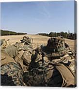 U.s. Marines Participate In A Known Canvas Print