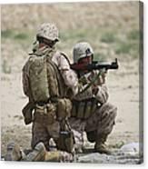 U.s. Marines Prepare A Fragmentation Canvas Print