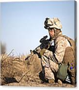 U.s. Navy Soldier Participates Canvas Print