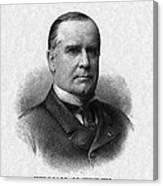 Us Presidents. Us President William Canvas Print