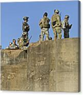 U.s. Special Operations Soldiers Canvas Print